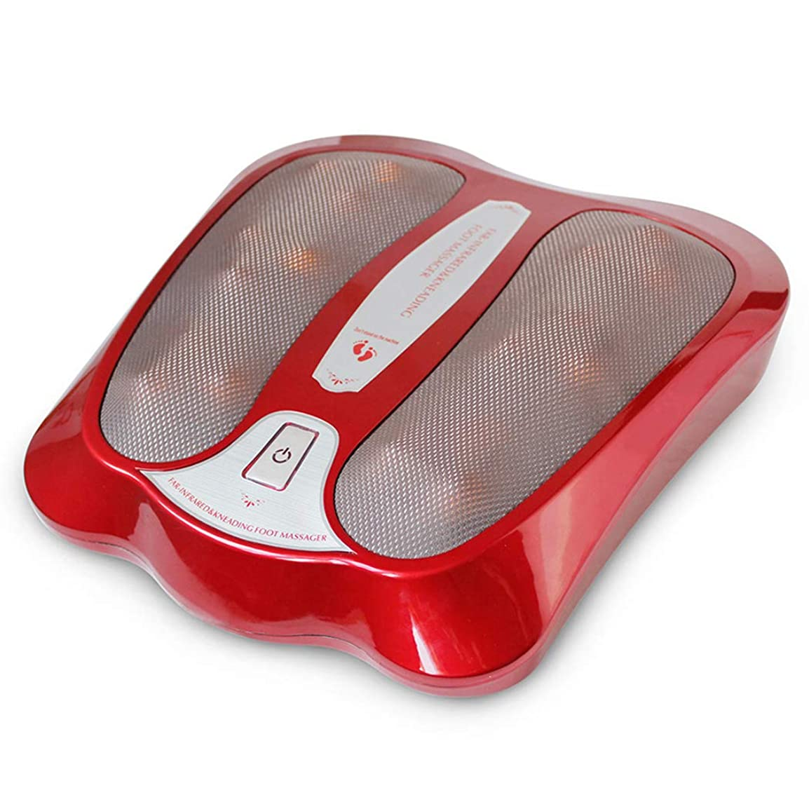 聴く素朴な第九調整可能 足のマッサージ機、ABS素材、熱を伴う足のマッサージ、家庭での、そしてオフィスでの足裏マッサージとストレス解消のための リラックス