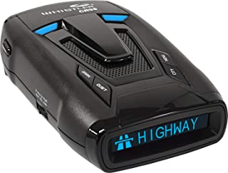 Whistler CR95 Maximum Performance Laser Radar Detector: 360 Degree Protection, Bilingual Voice Alerts, and Text Display