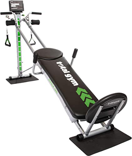 Total Gym APEX Versatile Indoor Home Workout Total Body Strength Training Fitness Equipment with up to 10 Levels of R...