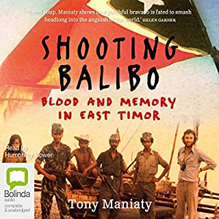 Shooting Balibo audiobook cover art