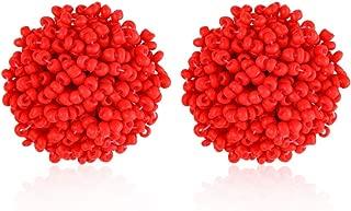 Best red bead earrings Reviews