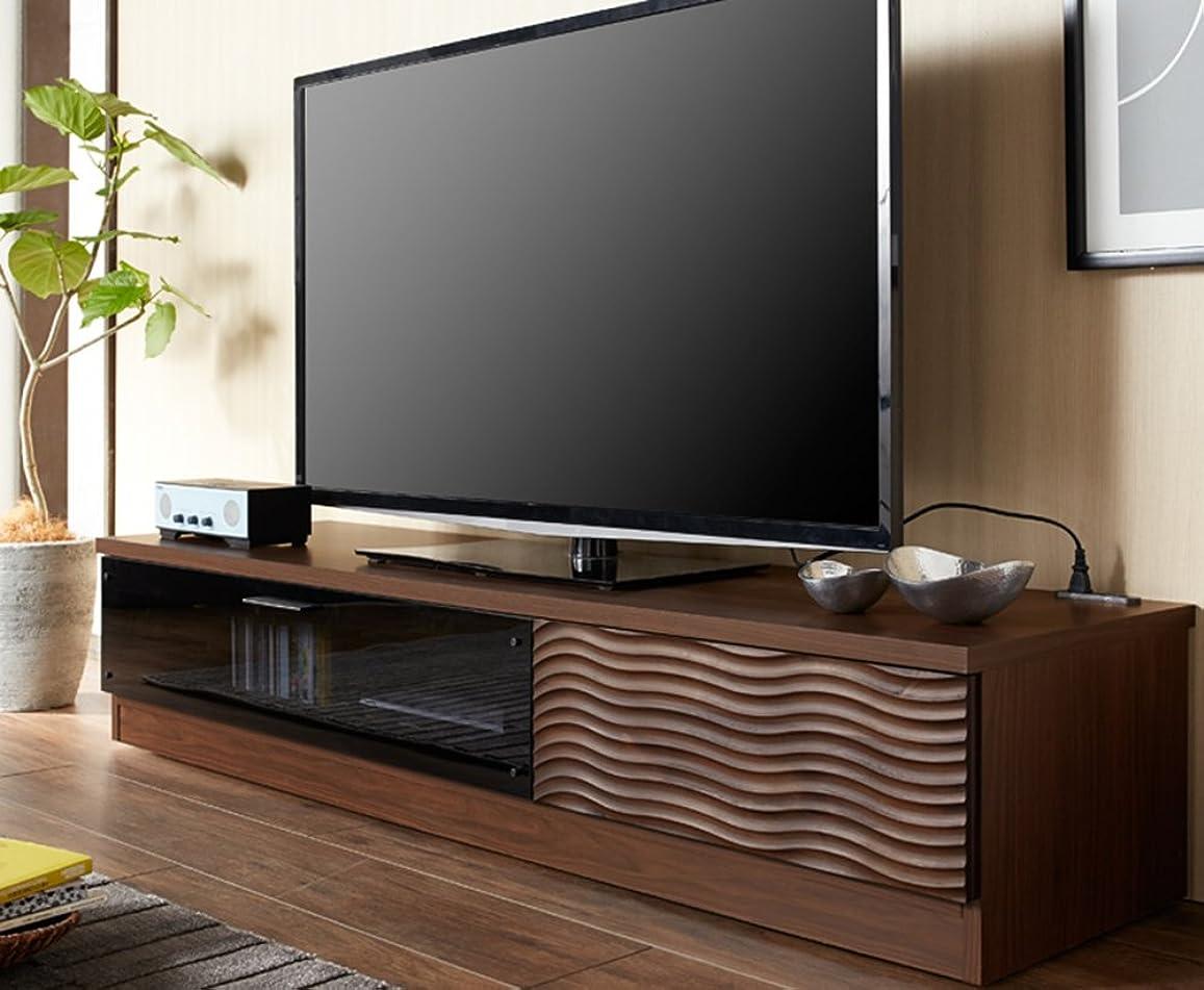 外交マティス核大川家具 関家具 テレビボード クリスト 160cm幅 180593