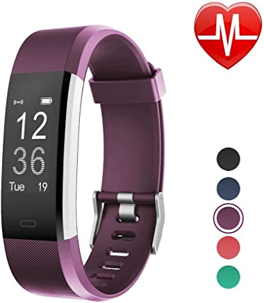 LETSCOM Fitness Tracker HR, Activity Tracker Watch with Heart Rate Monitor, Waterproof Smart Bracelet