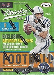 2018 Panini Classics NFL Football BLASTER box (8 pk, pp $19.99)