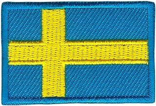 Patch Zweden vlag Klein Sweden patch strijkafbeelding grootte 4,5 x 3,0 cm