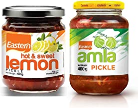 Eastern Hot & Sweet Lemon Pickle (300g) + Amla Pickle (400g) (Pack of 2)