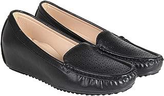 Flat n Heels Womens Black Loafer FnH 2602-53A-BK