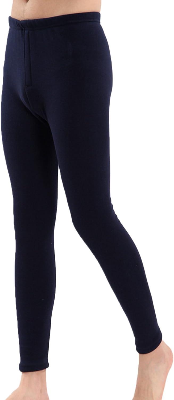 Letuwj Men`s High Waist Modal Thermal Pants Slim Fit Pants Soft Underwear