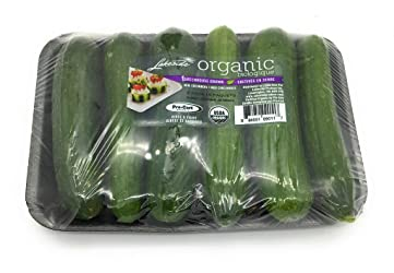 Organic Baby Seedless Cucumber, 16 Oz