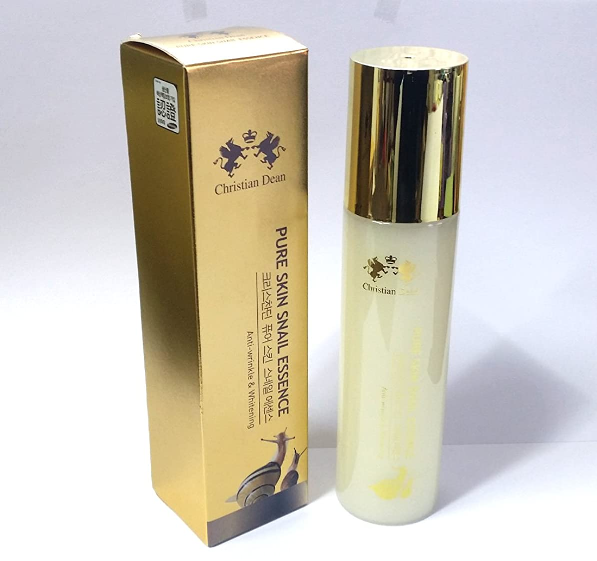 ベッド資格頻繁に[Christian Dean] ピュアスキンスネイルエッセンス150ml/ホワイトニング、カタツムリムチン/Pure Skin Snail Essence 150ml/Whitening, Snail mucin/韓国化粧品/Korean cosmetics [並行輸入品]