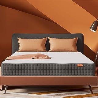 Queen Mattress- Sweetnight Breeze Queen Size Mattress, Medium Firm Memory Foam Mattress for Sleep Cool & Pressure Relief, ...