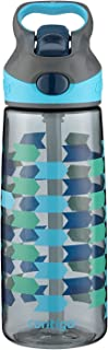 Contigo AUTOSPOUT Straw Striker Kids Water Bottle, 20 oz, Charcoal