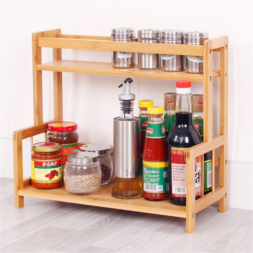 Very popular LSNLNN Plant Stands Home Seasoning Rack Kitchen Supplies Storage San Antonio Mall