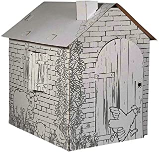 Legler 10015 - casa de Juegos, casa de Campo, a Partir de cartón elaboración