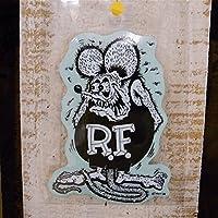 Rat Fink デカール S (RD002 :モノクロ)