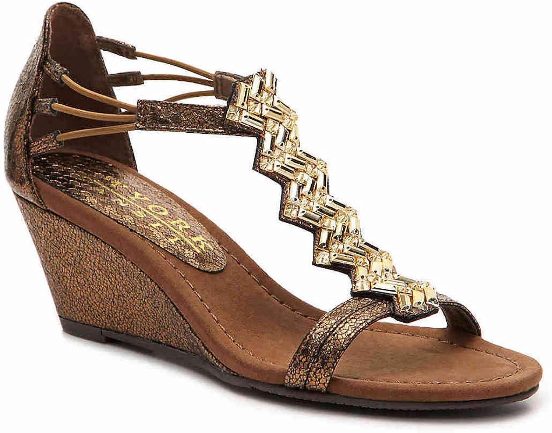 New York Transit Womens Brighter Beauty Open Toe Casual Platform Sandals