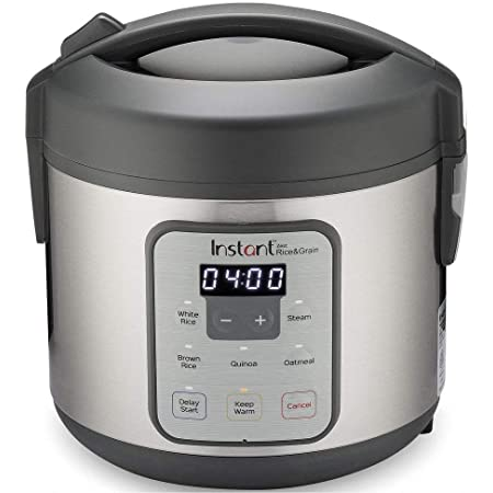 Instant Pot Zest 8 Cup Rice Cooker, Steamer, Cooks Rice, Grains, Quinoa and Oatmeal, No Pressure Cooking Functionality