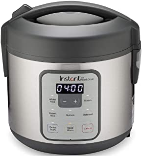 Instant Zest Rice Cooker, Grain Maker, and Steamer|8 Cups|Cooks White Rice, Brown Rice, Quinoa, and Oatmeal|From the Makers of Instant Pot