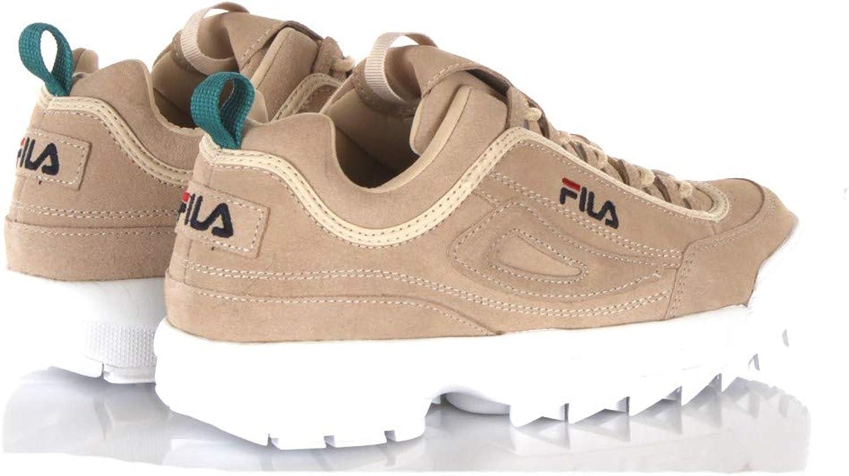 amazon fila casual zapatillas beis