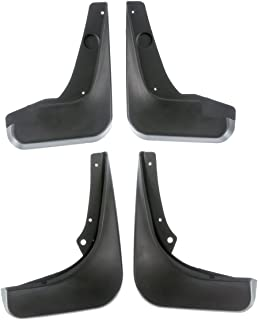 4pcs Front and Rear Mud Flaps Splash Guards Set for Chevrolet Cruze 2011-2015 Cruze Limited 2016