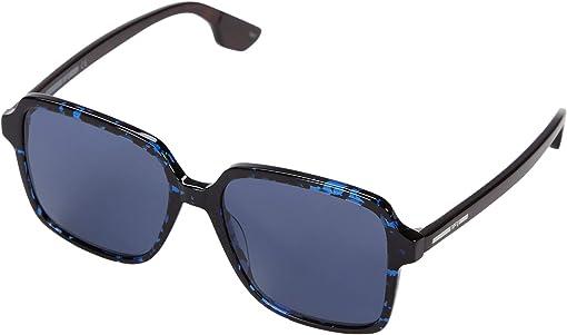 Havana/Blue/Black