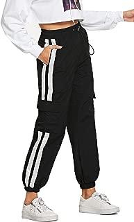 Women's Workout Jogger Pants High Waist Lightweight Hiking Outdoor Cargo Sweatpants