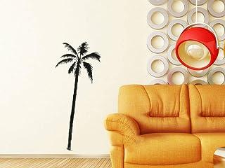pegatina de pared 3d Palmeras Coco Playa Surf Arte de la pared Pegatinas Hogar Decoración bricolaje Decoración para sala de estar