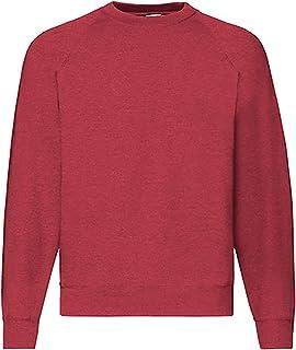 Fruit of the Loom Raglan Sweatshirt, Felpa Uomo