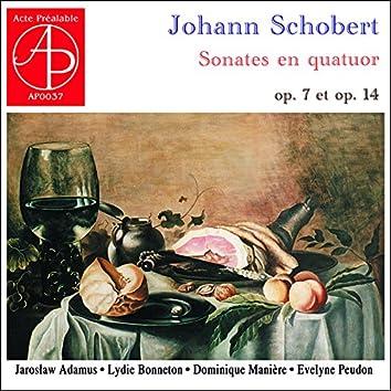 Jochann Schobert: Sonates en quatuor, Op. 7 & 14