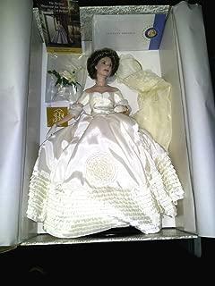 Jacqueline Kennedy Porcelain Heirloom Bride Doll