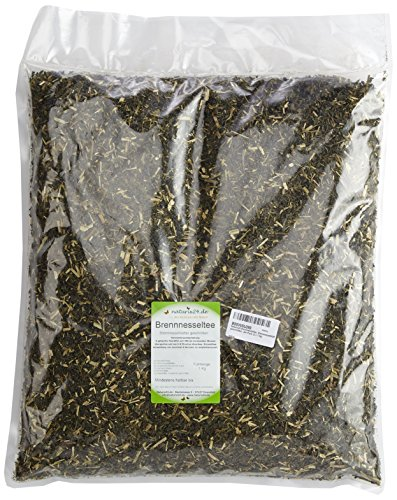 Naturix24 Brennnesseltee, Brennnesselblätter geschnitten, 2er Pack (2 x 1 kg)