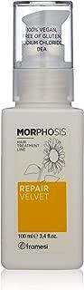 Framesi Morphosis Repair Velvet - 3.4 Ounce, Color Safe Instant Hair Moisturizer, Instant Hair Repair and Porosity Filler, Hair Treatment, Vegan, Gluten Free, Cruelty Free