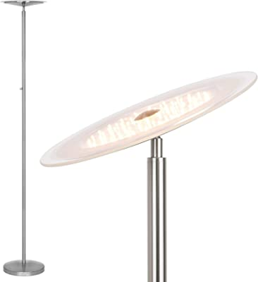 2er Set LED Wall Lamps Guest Room Spotlight Glass Opal Torch Big Light