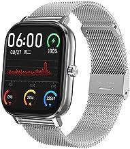 Smart Horloge ECG PPG Hrv Hartslag Bluetooth Call Smartwatch Mannen Vrouwen Waterdicht Ip67 Bloeddruk Zuurstof voor iOS-D