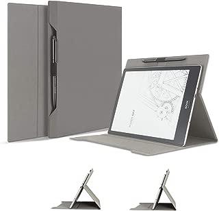 Jingdu Onyx Boox デジタルペーパー Note Pro 用 ケース 10.3インチ 専用 保護カバー おしゃれ 折り紙デザイン PUレザー 軽量 二つ折り 多角度調整 スタンド機能付き ペンホルダー付き