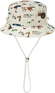 Infant Baby & Kids Safari Sun Hat UPF50+ Adjustable with Chin Strap Hiking Swim Cap