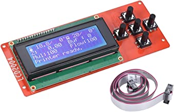 ANET Lcd 2004 Pantalla InteligenteMódulo ControladorconCablepara Ramps 1.4 Arduino Mega Pololu Escudo Arduino Reprap Accesorio Del Kit Impresora 3D