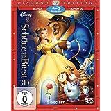 Disney's - Die Schöne und das Biest (3D Vers.) [Blu-ray]