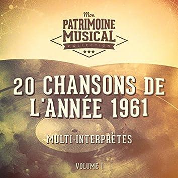 20 chansons de l'année 1961, Vol. 1
