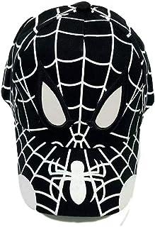 JCBD-hat Spider Cartoon Children Embroidery Cotton Baseball Cap Kids Man Boy Girl Hip Hop Hat Spiderman Cosplay Hat