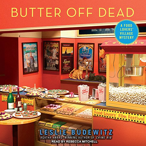 Butter off Dead audiobook cover art