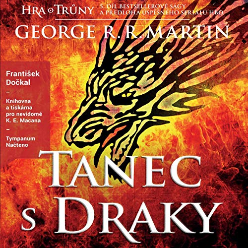 Tanec s draky audiobook cover art