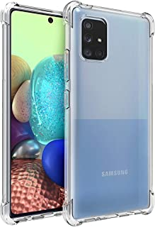 Osophter for Galaxy A71 5G Case Clear[NOT for A71] Transparent Reinforced Corners TPU Shock-Absorption Flexible Cell Phone...