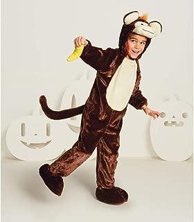 Baby Plush Monkey Halloween Costume Jumpsuit 18-24 Month Brown