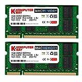 Komputerbay MACMEMORY 6GB Kit (4GB + 2GB Modules) PC2-6300 800MHz DDR2 SODIMM for Apple iMac 24' 2008 2.8GHz, 3.06GHz