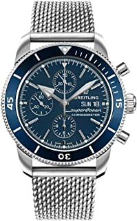 Breitling Superocean Heritage II Chronograph 44 Blue Dial Men's Watch A13313161C1A1
