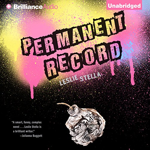 Permanent Record audiobook cover art