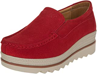 VonVonCo Shoes Elastic Durable Yoga Surf Sports Brogues Women's Ladies Fashion Thick Increase Flat Platform Wedges Casual Single