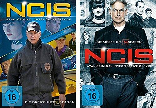 Navy CIS / NCIS Staffel 13+14 im Set - Deutsche Originalware [12 DVDs]
