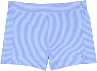 NAUTICA Girls 62G15006-486 Girls' Printed Shorts Casual Shorts - Blue